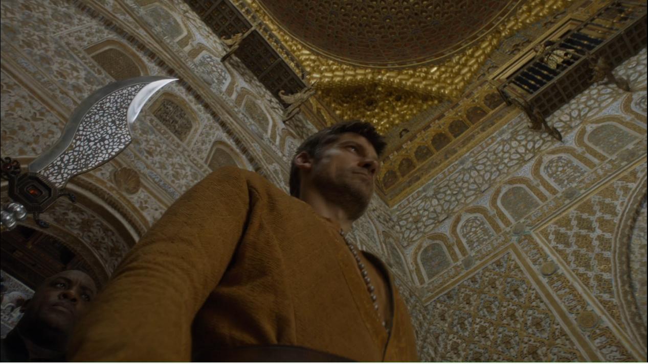 Jaime apresado en Dorne, ruta juego de tronos - Los viajes de Margalliver